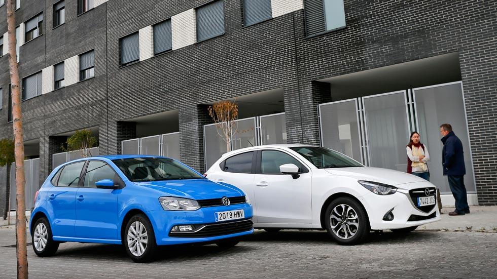 Mazda 2 1.5 Skyactiv-G 90 contra Volkswagen Polo 1.2 TSI 90