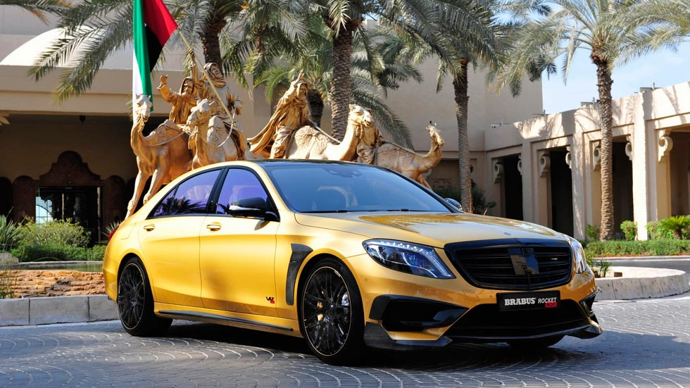 Brabus Rocket 900 Desert Gold Edition, tuning dorado