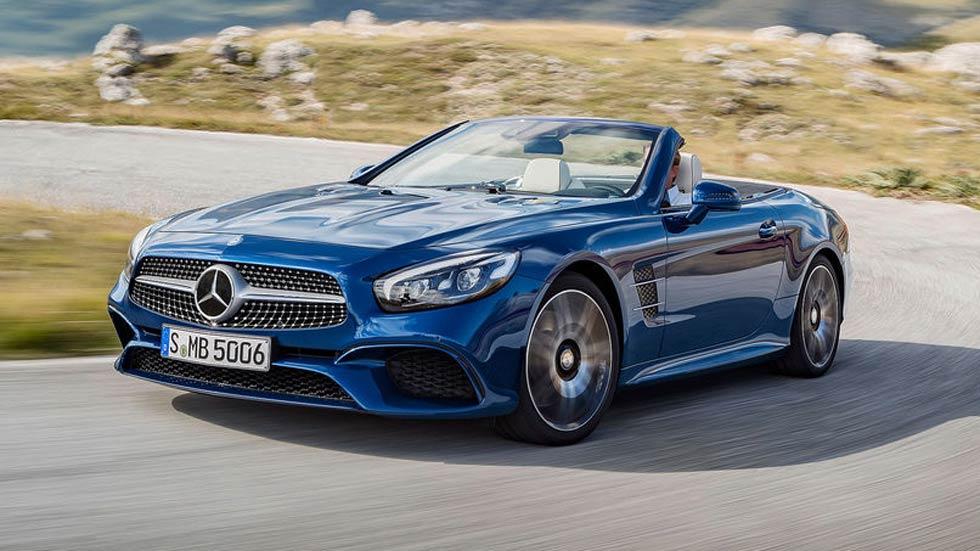 Mercedes SL 2016, diseño exterior e interior renovados