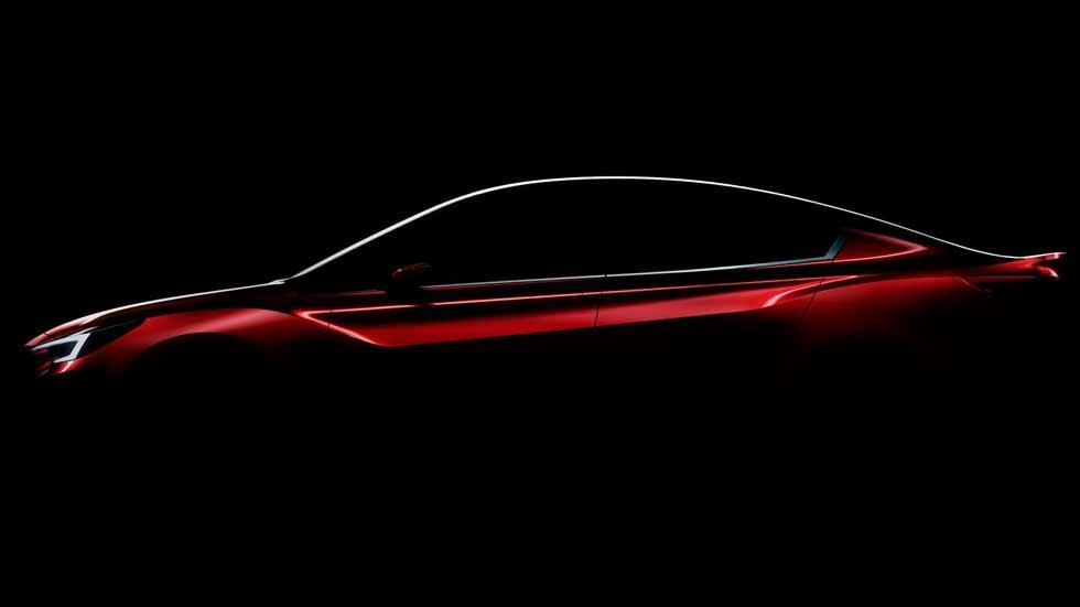 Subaru Impreza Sedán Concept: debut en el Salón de Los Ángeles