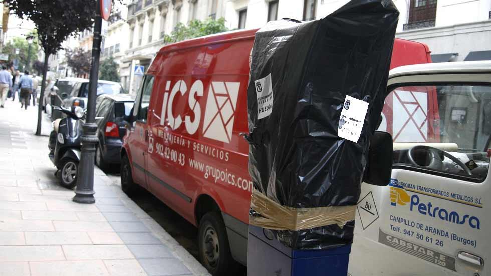 Los no residentes no pueden aparcar en la zona SER de Madrid