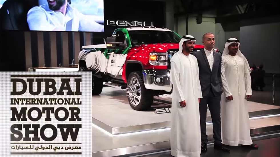 Los mejores coches del Salón del Automóvil de Dubai 2015