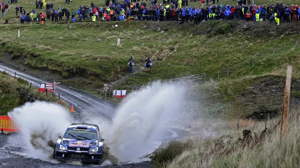 Rally de Gales GB 2015: Sébastien Ogier controla en cabeza