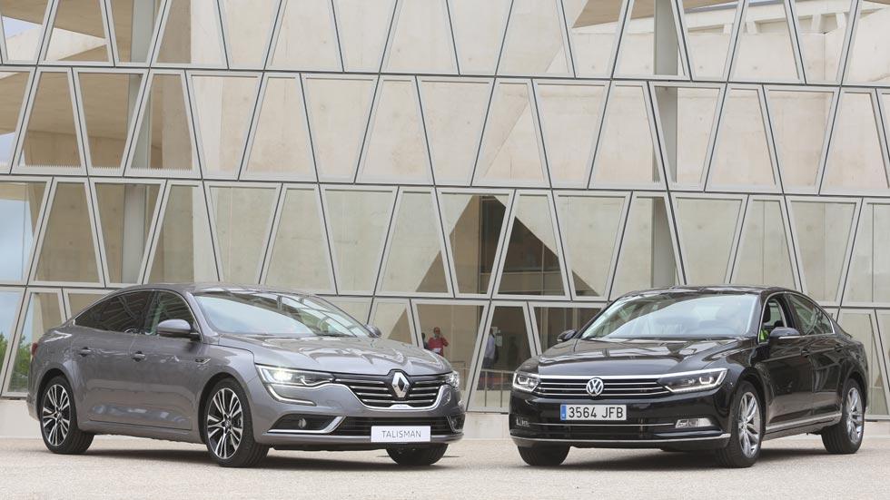Revista Autopista número 2.935: Renault Talisman vs Volkswagen Passat