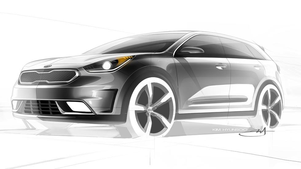 Kia Niro Hybrid Utility Vehicle, el nuevo SUV compacto e híbrido