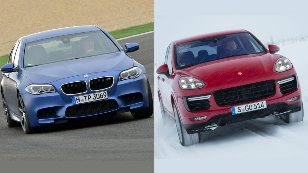 Porsche Cayenne Turbo y BMW M5, coches que más consumen