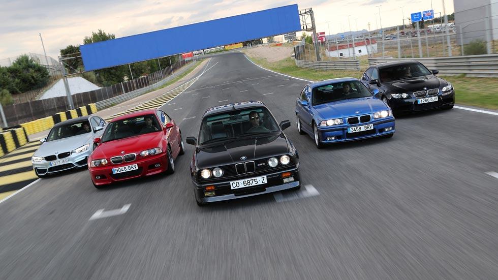 30 años del BMW M3: cinco generaciones de un mito