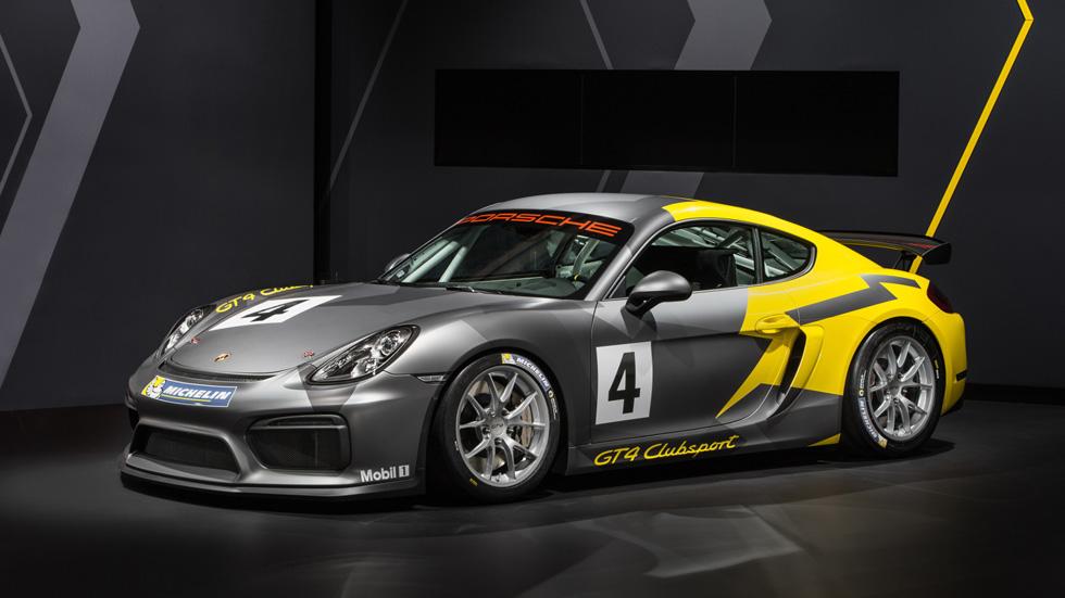 Porsche Cayman GT4 Clubsport, otra bestia para los circuitos