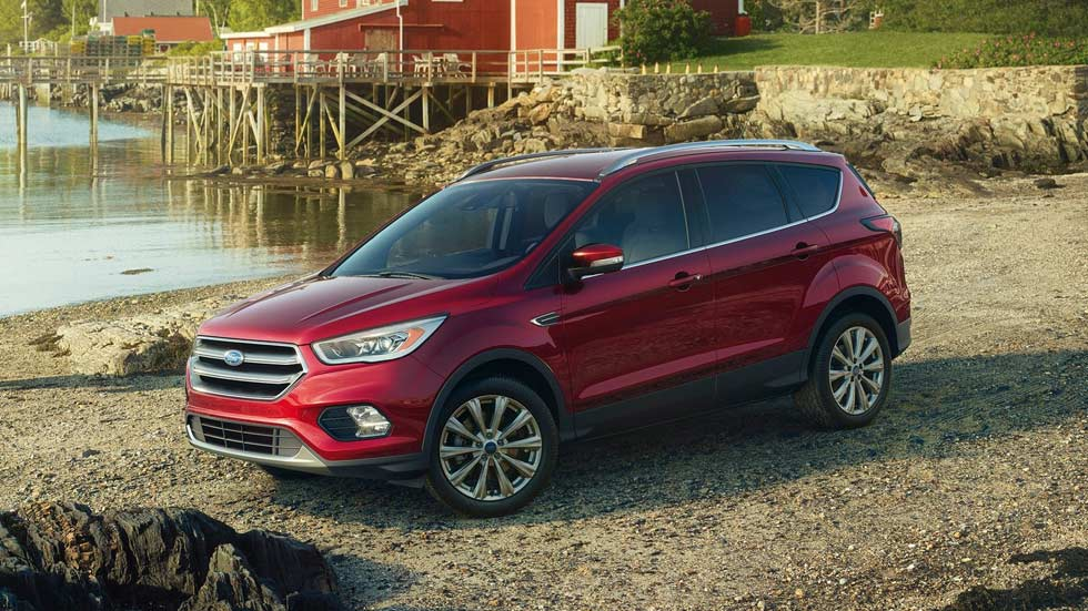 Ford Escape 2016, el Kuga americano se renueva