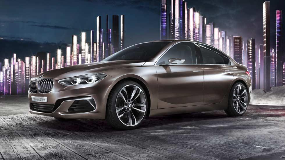 BMW Concept Compact Sedán, el Mercedes CLA según BMW