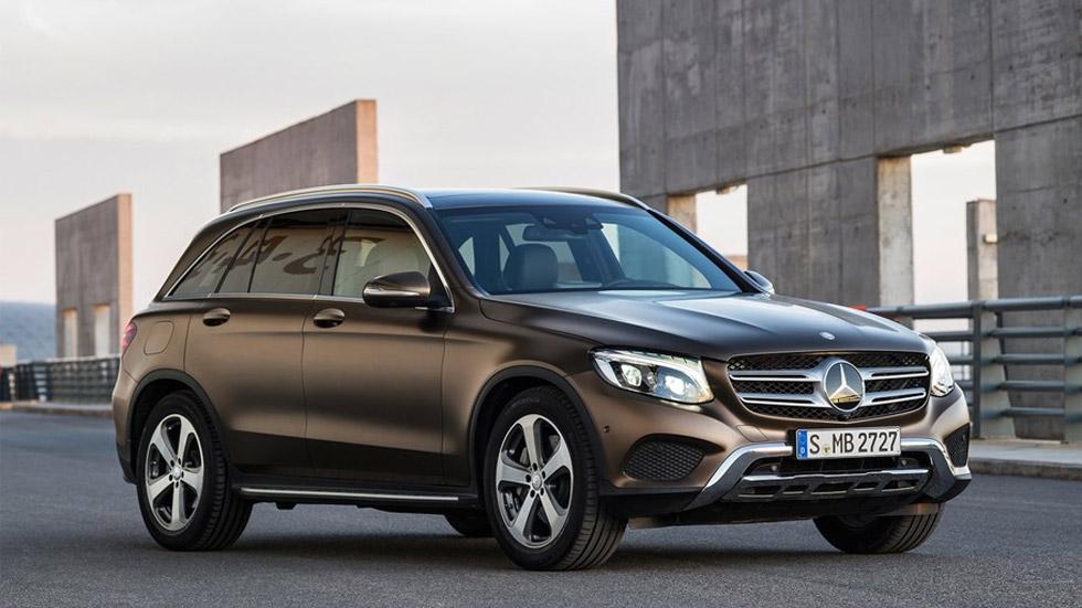 Mercedes-Benz GLC F-Cell, nuevo coche de hidrógeno y electricidad