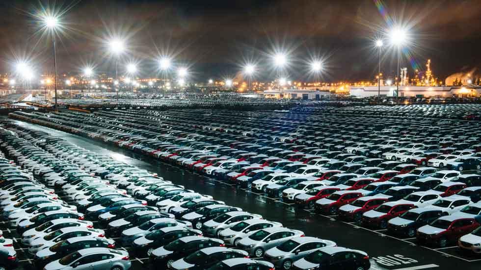 Las exportaciones de la industria automóvil española suben un 17 por ciento