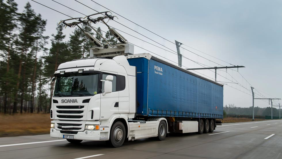 """Camiones eléctricos, Suecia ensayará los """"Trolecam"""""""