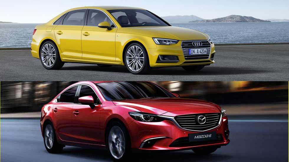 En busca de un buen coche Diesel de unos 150 CV. ¿Mazda 6 o Audi A4?