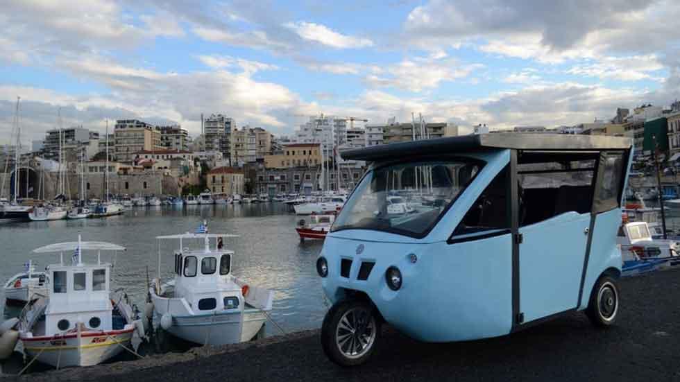 Sunnyclist, el vehículo eléctrico renovable que te pone en forma