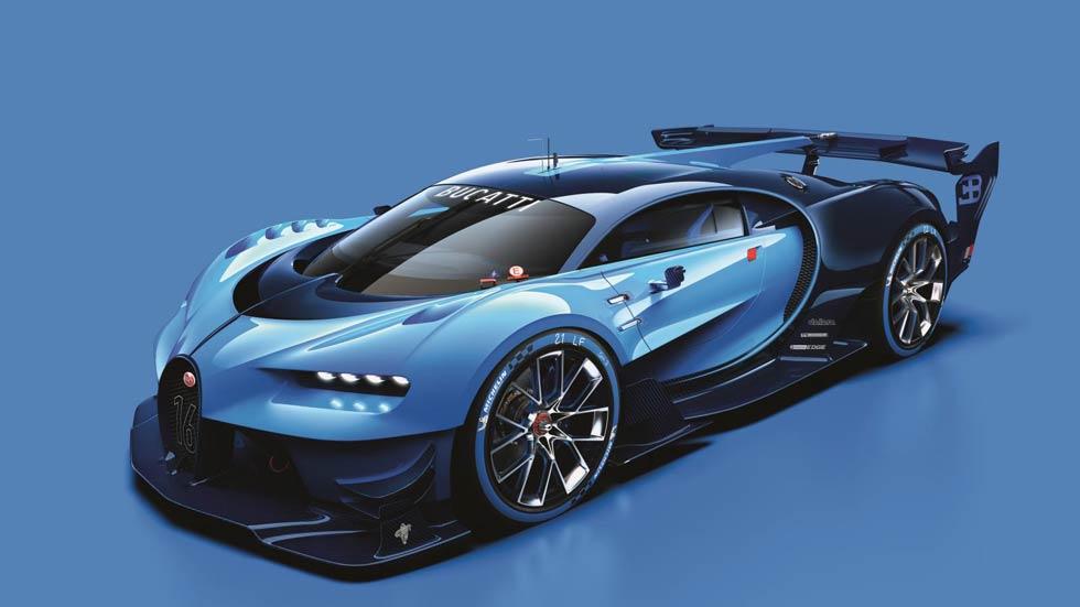 Bugatti Chiron, así se llamará el sustituto del Veyron