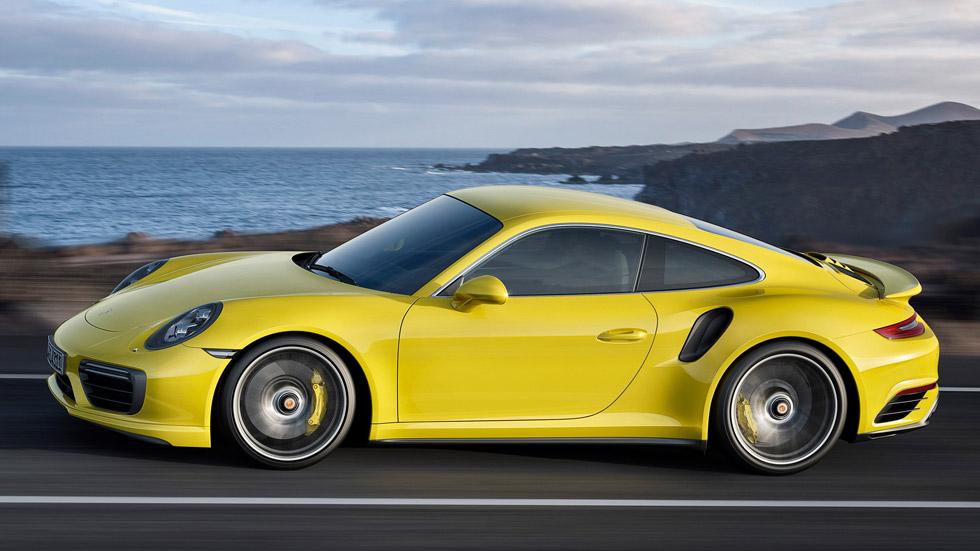 Porsche 911 Turbo y Turbo S 2016, aún más deportivos y potentes