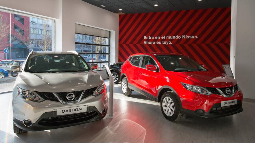 Nissan: coche de sustitución y asistencia gratis