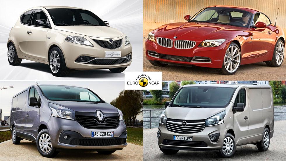 Los coches menos seguros, según Euro NCAP