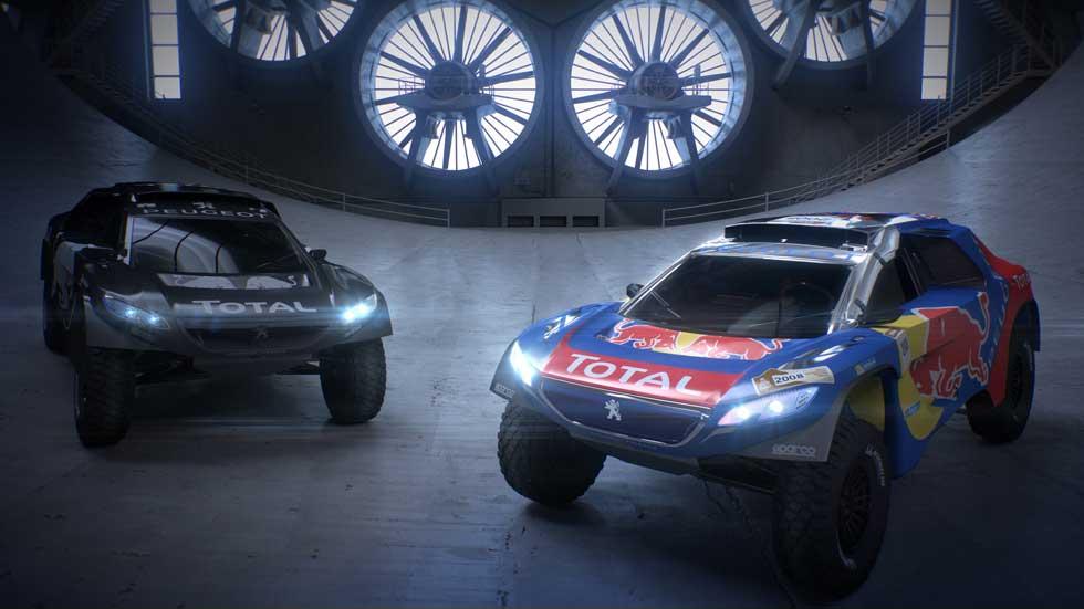 Peugeot 2008 DKR, el coche rival de Mini en el Dakar 2016