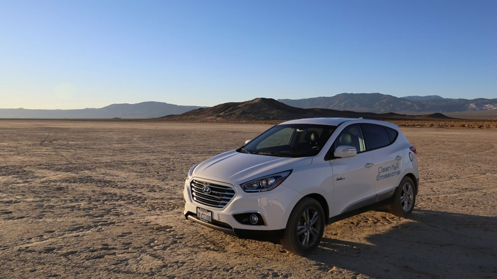 El Hyundai Tucson Fuel Cell de hidrógeno bate un récord de velocidad (vídeo)