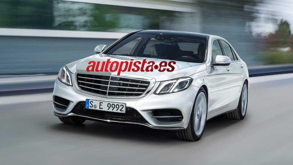Mercedes Clase E 2016, ahora con cambio automático de carril