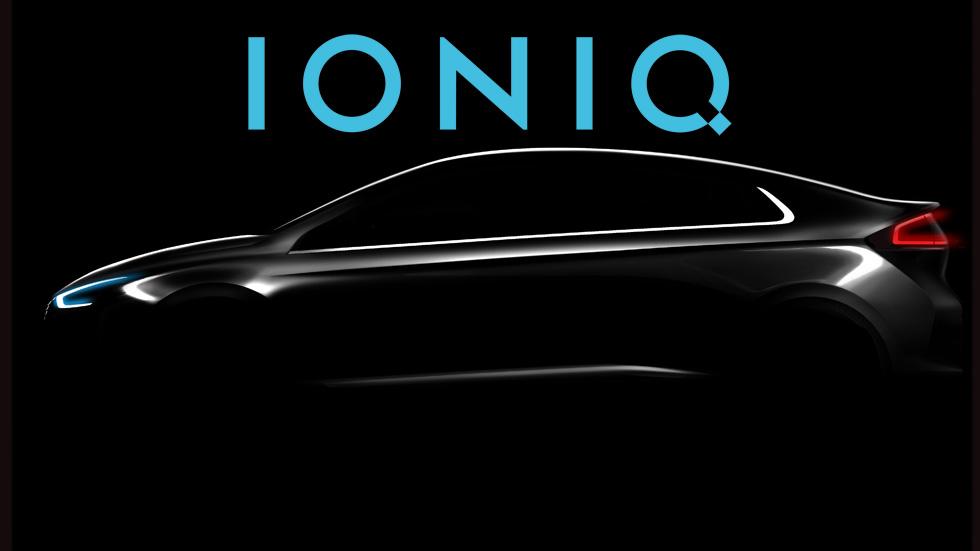 Hyundai IONIQ 2016, coche tres en uno: eléctrico, híbrido y híbrido plug-in