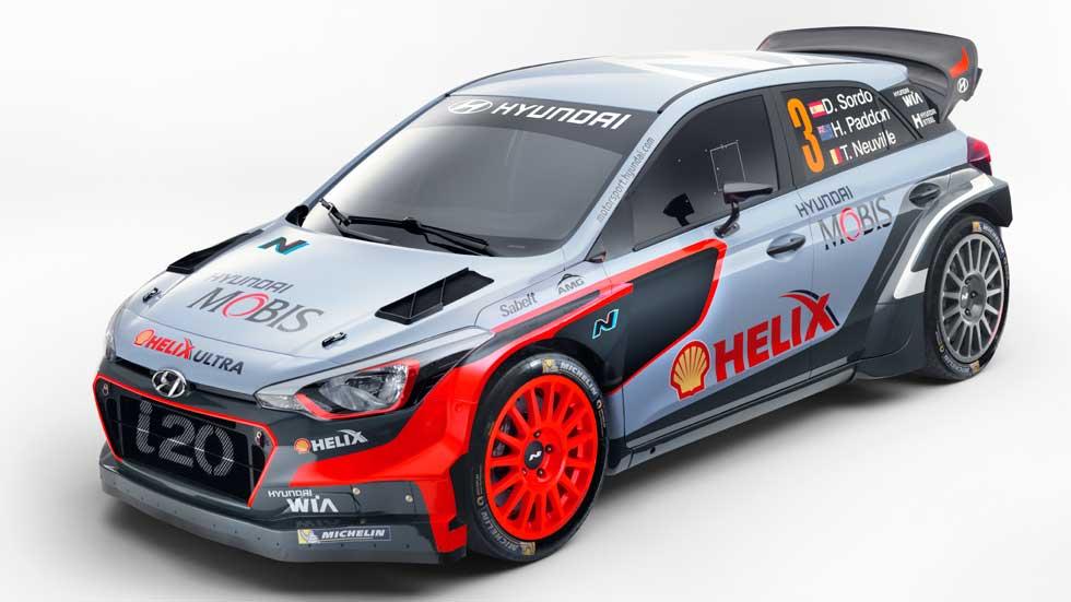 Hyundai i20 WRC 2016, nuevo coche para Dani Sordo