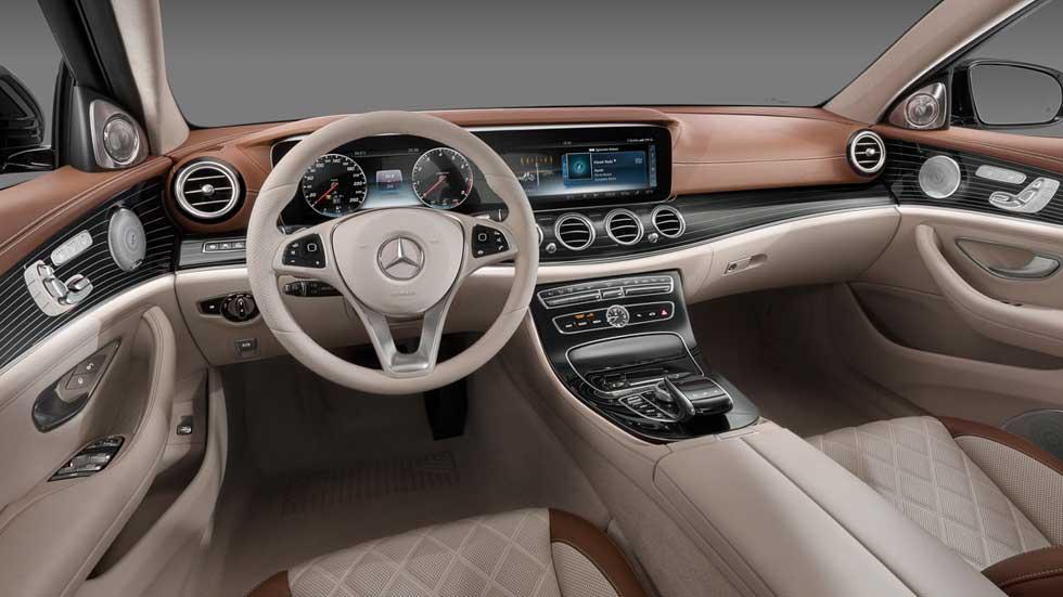 El nuevo Mercedes Clase E 2016 visto desde su interior