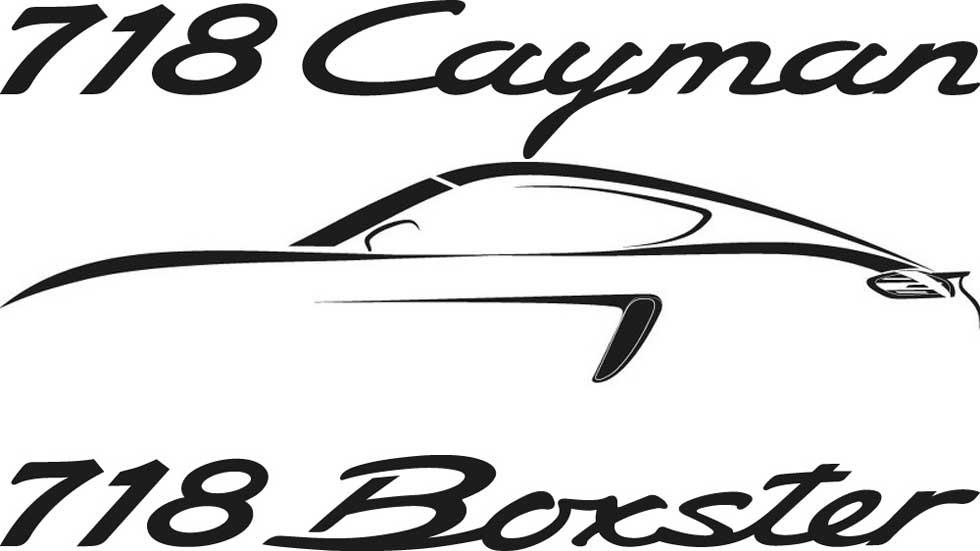 Porsche 718 Boxster y Porsche 718 Cayman, con motor bóxer de 4 cilindros