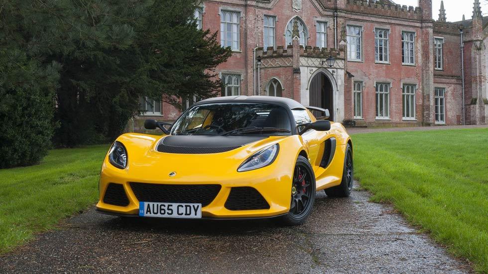 Lotus Exige Sport 350 2016, más ligero y más rápido