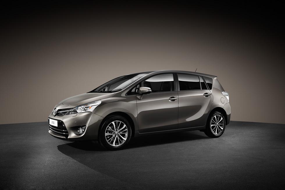 Toyota Verso 2016: más seguridad, más diseño