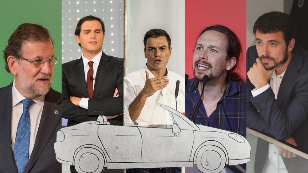 El coche ideal para los candidatos a presidente del Gobierno