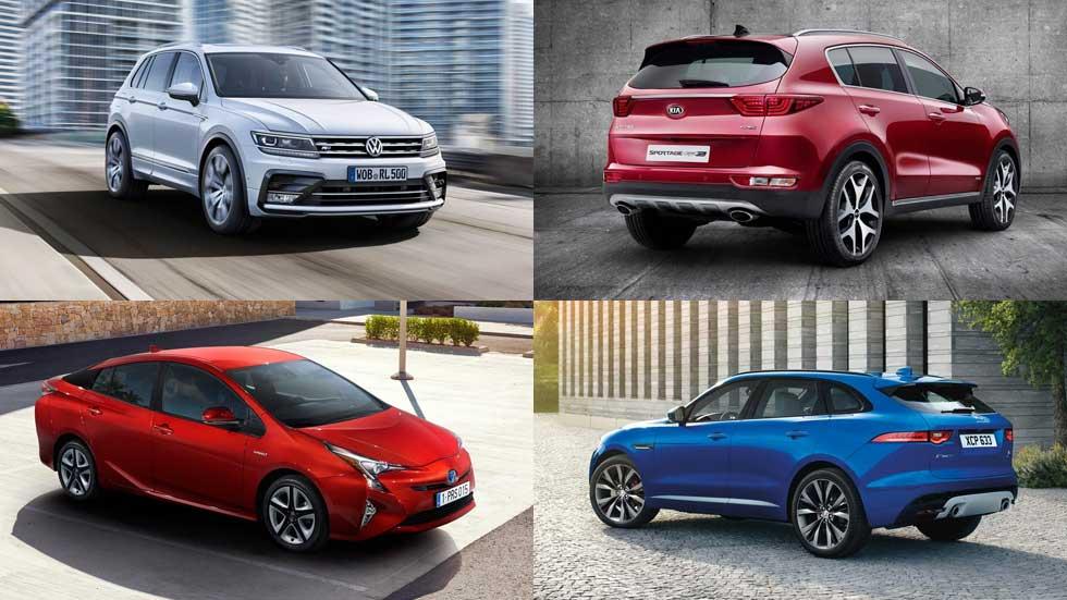 Coches nuevos 2016: SUV, deportivos, híbridos, familiares...