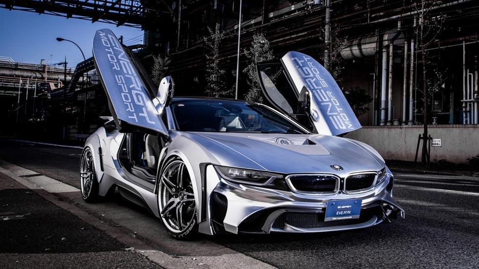 BMW i8 Cyber Edition, como una nave especial