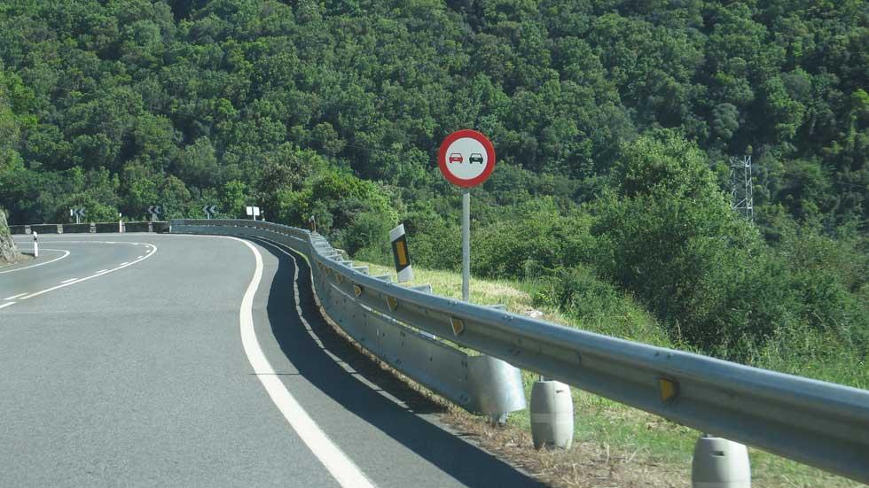Los 10 tramos de carretera más peligrosos de España
