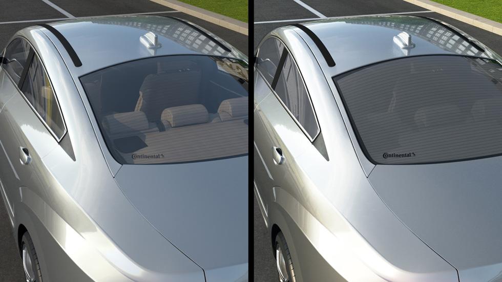 Continental y su nuevo cristal inteligente para el coche