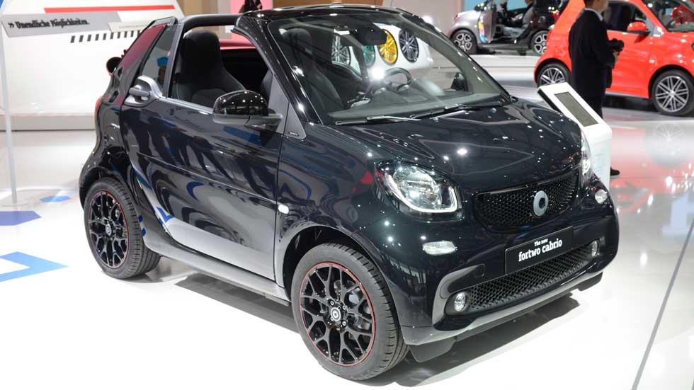 Smart Fortwo Cabrio 2016, precio de salida