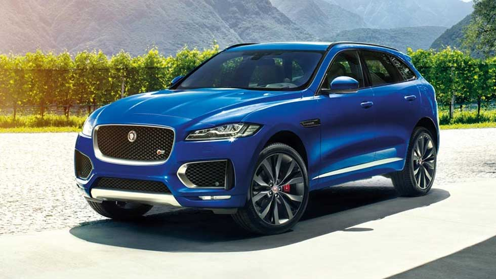 jaguar f pace 2016 el lujo en versi n suv. Black Bedroom Furniture Sets. Home Design Ideas