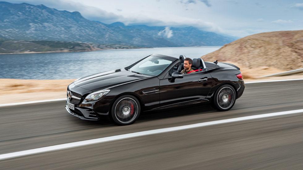 Mercedes–AMG SLC 43 2016, menos potencia pero más diversión