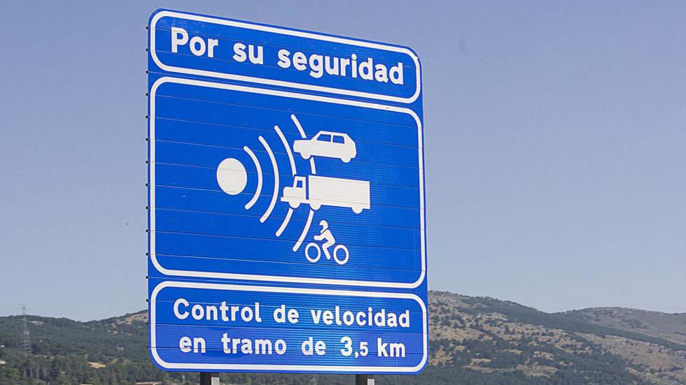 Seis nuevos radares de tramo en las carreteras secundarias