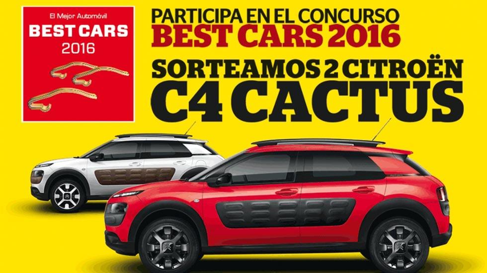 Comienza el año ganando un Citroën C4 Cactus, vota ya en Best Cars 2016