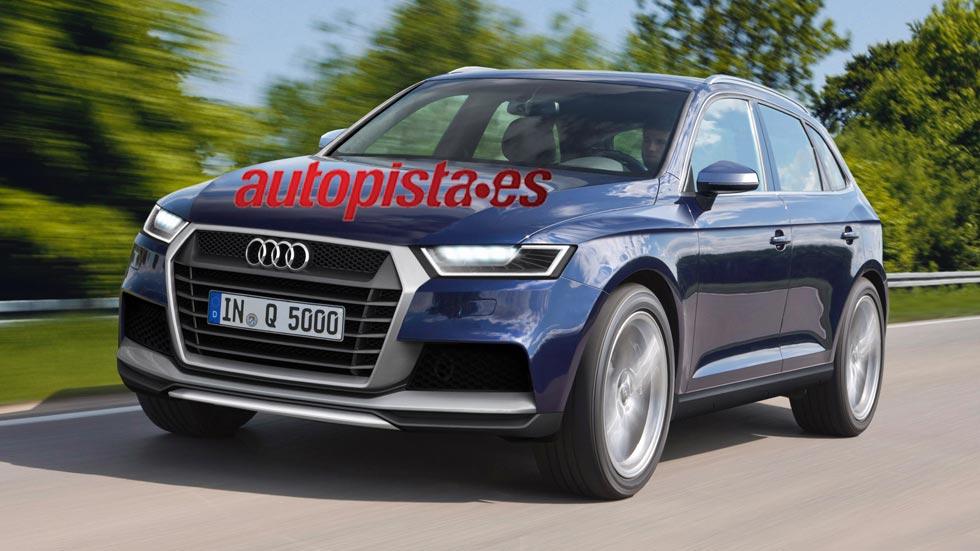 Audi Q5 2016, más grande y más ligero