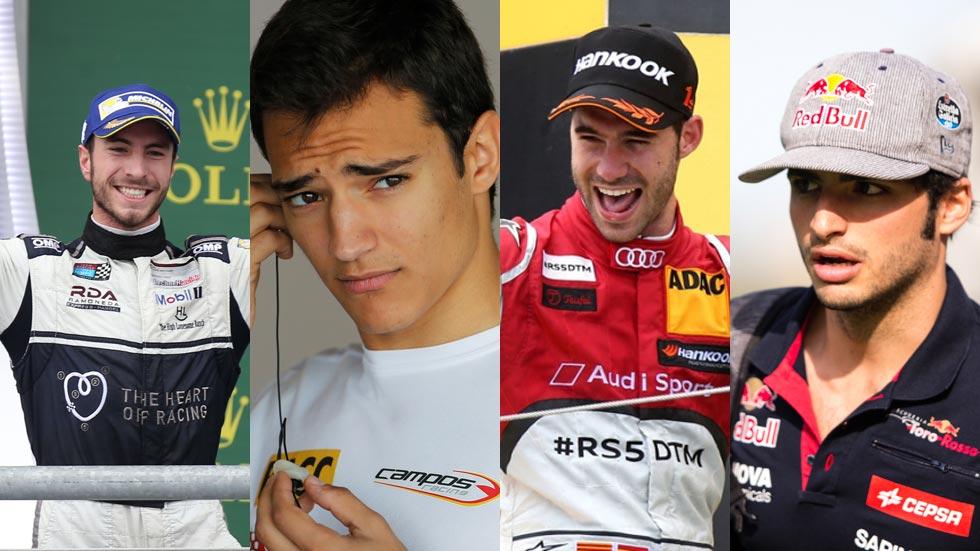 Los pilotos españoles más destacados en las carreras en 2015