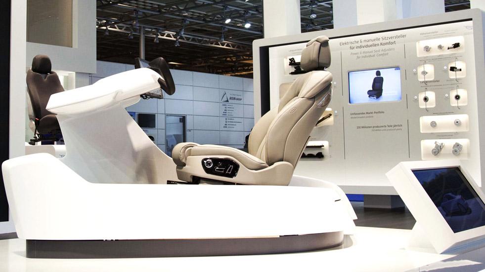 El asiento de tu coche será inteligente y te reconocerá