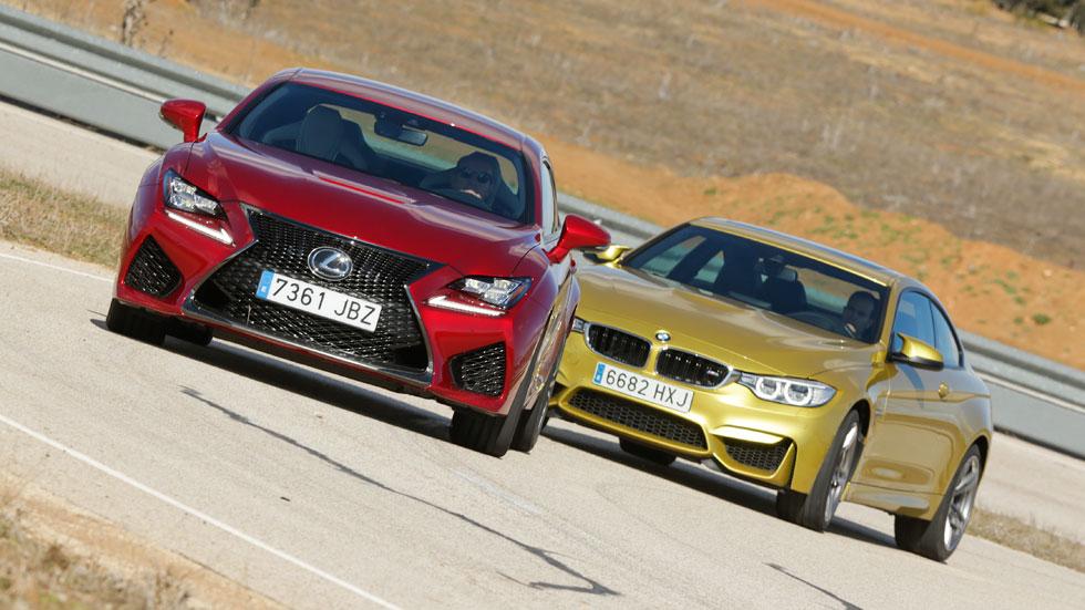 BMW M4 vs Lexus RC F, dos coupés para soñar