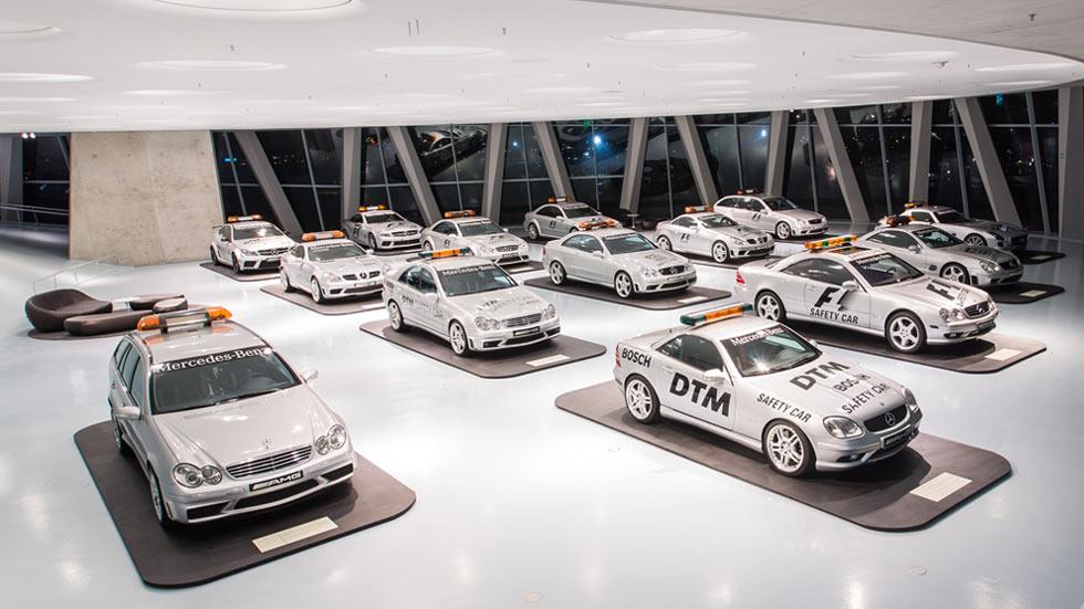 Los Safety Cars de Mercedes cumplen 20 años