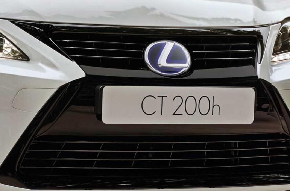 Lexus CT 200h, próxima edición basada en el nuevo Prius