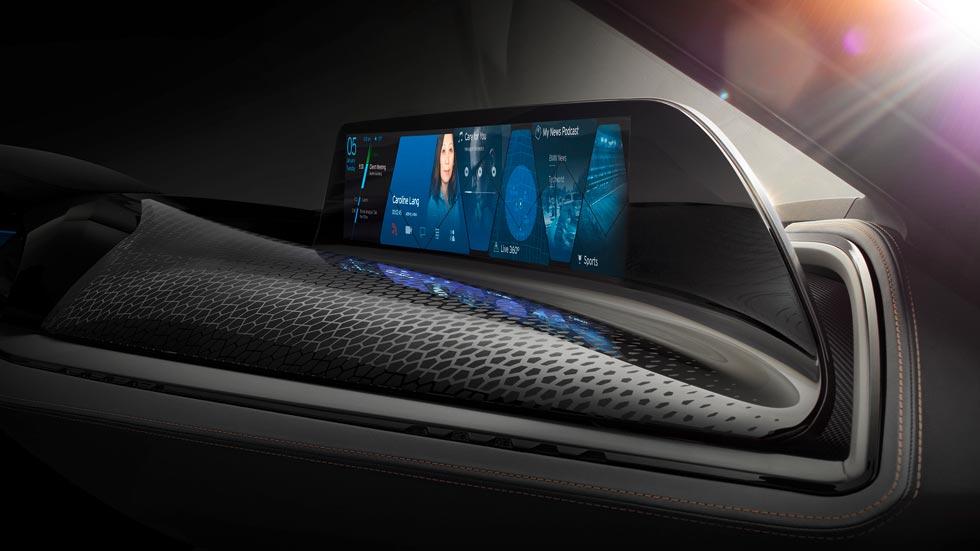 BMW y su sistema AirTouch de control de gestos del conductor