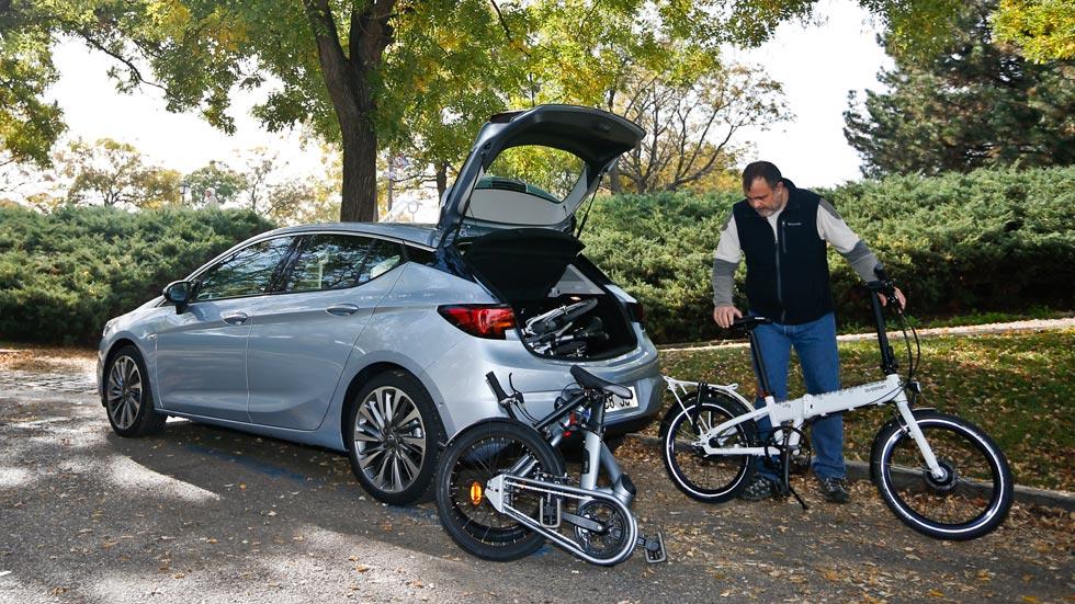 ¿Qué bicicletas entran en el maletero de un coche?